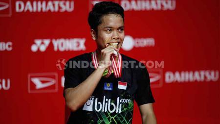 Termasuk pebulutangkis Anthony Ginting, inilah tiga tunggal putra Indonesia yang mengalami kenaikan ranking BWF minggu ini. - INDOSPORT