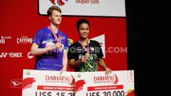 Indosport - Tunggal putra terbaik Indonesia, Anthony Sinisuka Ginting, kembali menjadi sorotan induk bulutangkis dunia, BWF.
