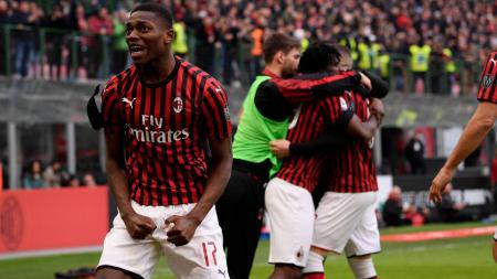 Gol Cepat Rafael Leao Janggal, Rekor AC Milan di Liga Italia Tak Sah? - INDOSPORT