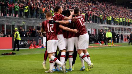 Kemenangan 3-2 AC Milan atas Udinese di pekan ke-20 Serie A Liga Italia ternyata ditonton langsung oleh pemain Garuda Select. - INDOSPORT