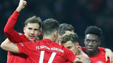 Hasil Pertandingan Bundesliga Jerman Hertha Berlin vs Bayern Munchen: Die Roten Mengamuk. - INDOSPORT