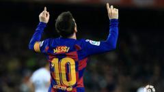 Indosport - Lionel Messi (Barcelona) dan Jadon Sancho (Borussia Dortmund) sukses jadi pemain paling impresif sepanjang musim ini.