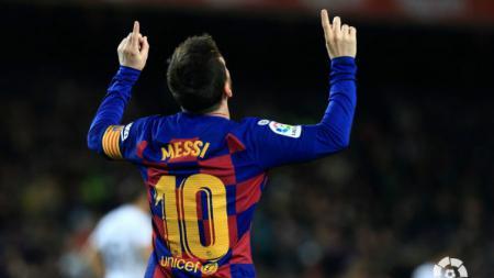 Berikut top skor sementara kompetisi sepak bola LaLiga Spanyol hingga pekan ke-21 dan bintang Barcelona, Lionel Messi, masih terlihat kokoh di puncak. - INDOSPORT