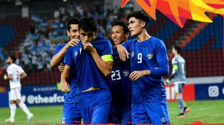Hasil Perempatfinal Piala Asia U-23 2020: Uzbekistan Pesta Gol. - INDOSPORT