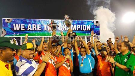 Klub Liga Super Malaysia, Felda United, keluar sebagai juara Turnamen Internasional Edy Rahmayadi Cup 2020. - INDOSPORT