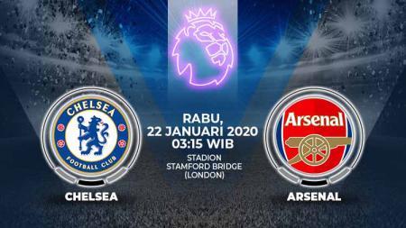 Daftar pemain cedera jelang big match Liga Inggris antara Chelsea vs Arsenal. - INDOSPORT
