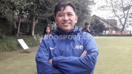 Media Officer klub Liga 1, Arema FC, Sudarmaji. - INDOSPORT