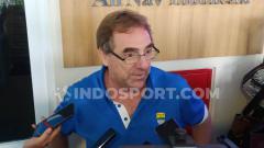 Indosport - Pelatih klub Liga 1, Persib Bandung, Robert Alberts.