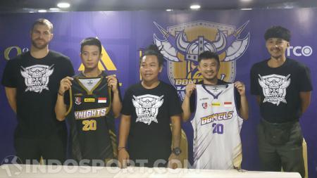 Tim BBM CLS Knights sebelum ikut Thailand Basketball Super League (TBSL) 2020. - INDOSPORT