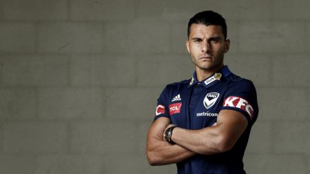 Pemain Melbourne Victory (Australia) Andrew Nabbout. - INDOSPORT