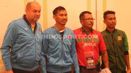 Klub Liga 1 PSM Makassar memiliki satu faktor yang tak dimiliki oleh klub Timor Leste, Lalenok United. Kedua klub tersebut saling sikut di ajang play-off Piala AFC 2020 demi tiket lolos ke fase penyisihan grup. - INDOSPORT