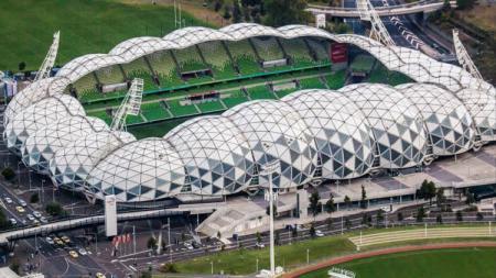 Markas Melbourne Victory, AAMI Park. - INDOSPORT