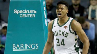 Bintang basket Milwaukee Bucks, Giannis Antetokounmpo. - INDOSPORT