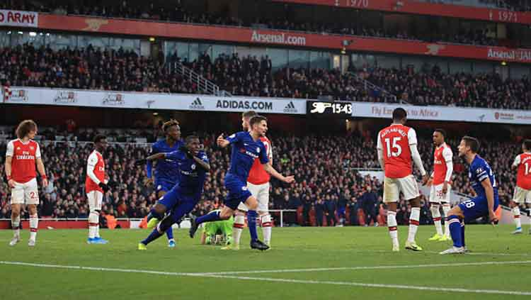 Arsenal vs Chelsea di Liga Inggris Copyright: Marc Atkins/GettyImages