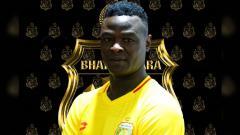 Indosport - Ezechiel N'Douassel gabung Bhayangkara FC dari Persib Bandung untuk Liga 1 2020
