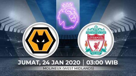 Berikut ini adalah link live streaming pertandingan Liga Primer Inggris antara Wolves vs Liverpool. - INDOSPORT