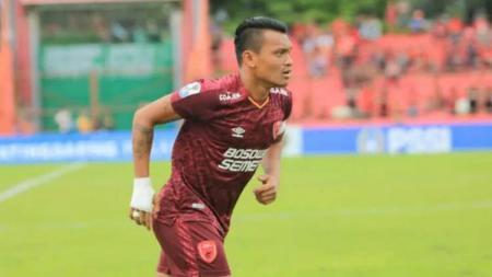 Ferdinand Sinaga, striker klub Liga 1, PSM Makassar. - INDOSPORT