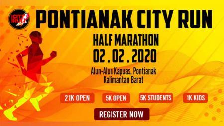 Pontianak City Run Half Marathon 2020, tidak hanya memberikan dampak sehat, melainkan juga segudang keuntungan lain. - INDOSPORT