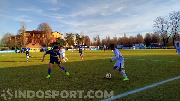 Laga Garuda Select vs Inter Milan U-17 Copyright: Zainal Hasan/INDOSPORT