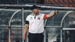 Indosport - Kepala pelatih Madura United Rahmad Darmawan.