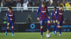 Indosport - ivaldo menyimpan segudang pertanyaan melihat buruknya permainan Antoine Griezmann di Barcelona.