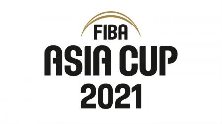 Logo FIBA Asia Cup 2021 di Indonesia. - INDOSPORT