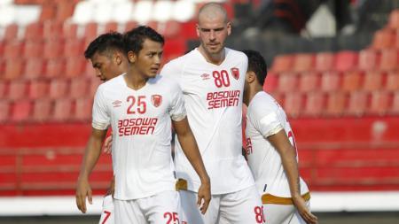 Berikut ada sebuah rekor prestisius yang telah diukir oleh PSM Makassar ketika main di Stadion Pakansari jelang lawan Lalenok United di Kualifikasi Piala AFC 2020. - INDOSPORT