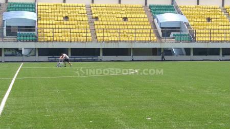 Stadion Citarum yang akan digunakan PSIS di Liga 1 2020. Foto: Alvin Syaptia/INDOSPORT. - INDOSPORT