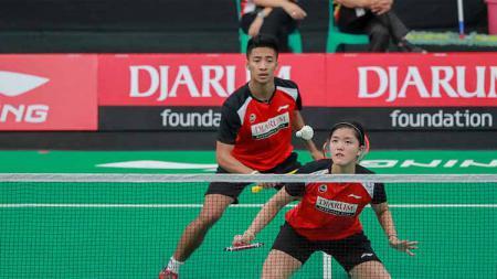 Pebulutangkis ganda campuran Indonesia, Dejan Ferdinansyah/Serena Kani kandas kala menjamu unggulan Malaysia, Tan Kian Meng/Lai Pei Jing di babak dua Thailand Masters 2020. - INDOSPORT