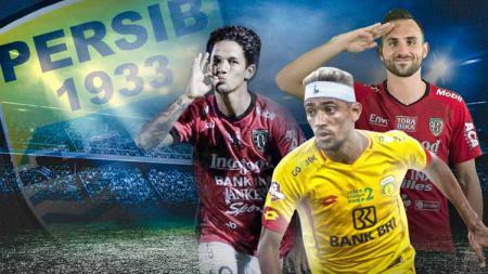 Persib Bandung sepertinya akan memiliki kekuatan lini serang berbeda, bila tiga pemain incarannya, Irfan Bachdim, Bruno Matos, dan Ilija Spasojevic jadi bergabung. - INDOSPORT