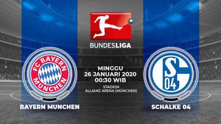 Berikut prediksi pertandingan Bundesliga Jerman pekan ke-19 antara Bayern Munchen vs Schalke 04, Minggu (26/01/20). - INDOSPORT