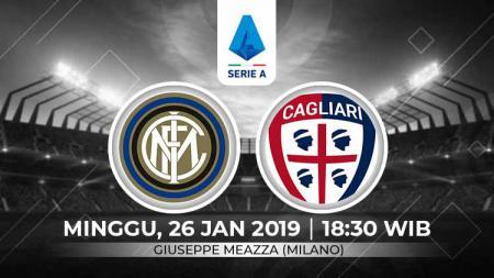 Prediksi pertandingan Serie A Italia antara Inter Milan vs Cagliari, sepertinya akan jadi momentum Nerazzurri untuk meraih kebangkitan. - INDOSPORT