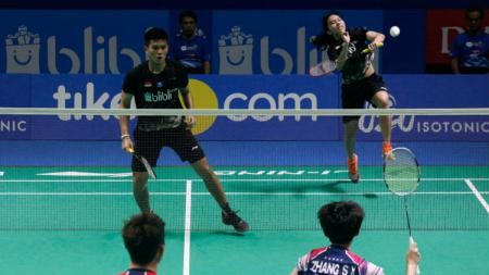 Adnan Maulana/Mychelle Crhystine Bandaso bertemu wakil Malaysia, Chang Peng Soon/Goh Liu Ying di Thailand Open. Berikut hasil pertandingannya. - INDOSPORT