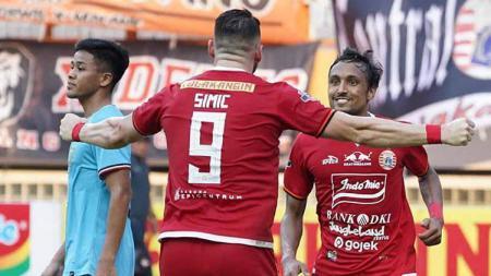 Persija Jakarta turut memberikan jawaban usai striker Marko Simic dan gelandang Rohit Chand latihan terpisah dari rekan-rekannya, Kamis (23/01/20). - INDOSPORT