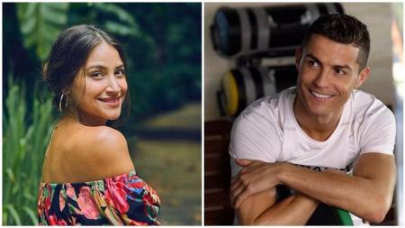 Penyanyi asal Venezuela, Georgina, tiba-tiba saja menjadi kekasih bintang Juventus, Cristiano Ronaldo, selama satu malam secara tidak disengaja. - INDOSPORT