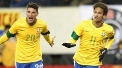 Indosport - Thiago Neves Timnas Brasil