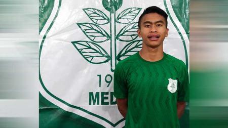 Mengenal Ricat Turnip, pemain muda berumur 18 tahun, yang baru saja bergabung secara profesional dengan klub Liga 2, PSMS Medan. - INDOSPORT