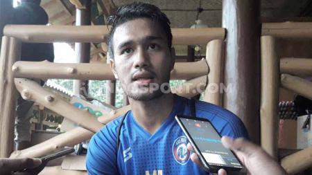 Midfielder Arema, Muhammad Rafli. - INDOSPORT
