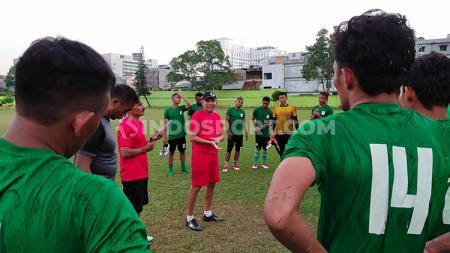 PSMS Medan sudah mengontrak 21 pemain dalam ajang Liga 2 2020 yang diprediksi mulai bergulir pekan-pekan awal Maret 2020. - INDOSPORT
