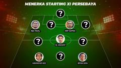 Indosport - Menerka Starting XI Persebaya Surabaya di Liga 1 2020.