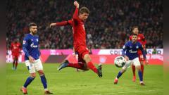 Indosport - Usai menjadi salah satu aktor penting Bayern Munchen dalam membantai Barcelona dengan skor 8-2, Thomas Muller langsung targetkan trofi Liga Champions musim ini.
