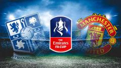 Indosport - Dimiliki orang Indonesia, 3 fakta calon lawan Manchester United di Piala FA Tranmere Rovers.
