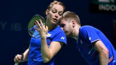 Indosport - Marcus Ellis/Lauren Smith, juara Thailand Masters 2020.