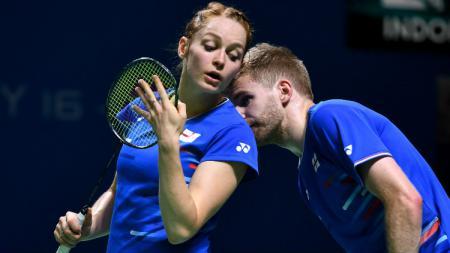 Marcus Ellis/Lauren Smith, juara Thailand Masters 2020. - INDOSPORT