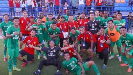 Bhayangkara FC saat menjadi juara di turnamen pramusim Siem Reap Super Asia Cup 2020. - INDOSPORT