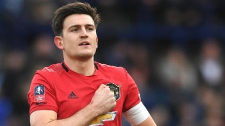 Kapten Harry Maguire dituding jadi balerina kala Manchester United ditindas PSG pada laga lanjutan Liga Champions. - INDOSPORT