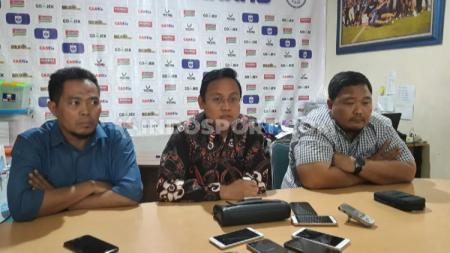 Salah satu jajaran Direksi PSIS Semarang, Kairul Anwar akan meletakkan jabatannya di Laskar Mahesa Jenar setelah terpilih menjadi anggota Komdis PSSI. - INDOSPORT