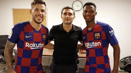 Jebolan La Masia, Carles Perez dikabarkan dilepas Barcelona untuk gabung ke AS Roma di bursa transfer musim dingin - INDOSPORT