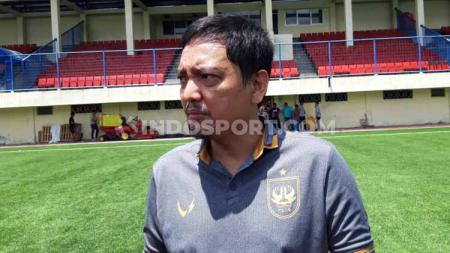 Yoyok Sukawi selaku Chief Executive Officer (CEO) klub Liga 1 PSIS Semarang menyambut baik adanya Satgas Anti Mafia Bola tahap III di Provinsi Jawa Tengah. - INDOSPORT