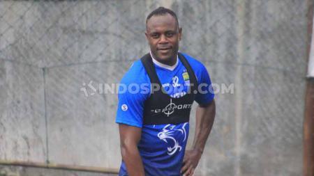 Pemain belakang klub Liga 1 Persib Bandung, Victor Igbonefo. - INDOSPORT